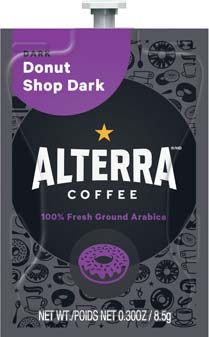 Alterra Coffee Donut Shop Dark Alterra Coffee Donut Shop