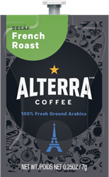 Alterra Coffee French Roast Decaf Alterra Coffee French Roast Decaf Flavia