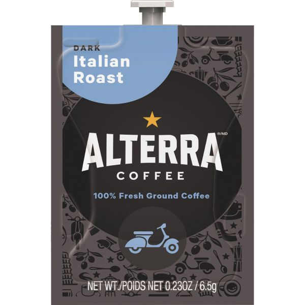 Alterra Coffee Italian Roast Alterra Coffee Espresso Roast Flavia