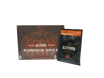 Alterra Coffee Pumpkin Spice Alterra Coffee Colombia Medium Flavia