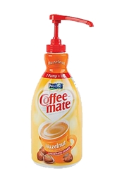 Coffee Mate Hazelnut Liquid Creamer Pump (2- 1.5 L)