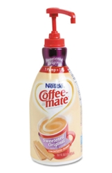 Coffee Mate Original Liquid Creamer Pump (2- 1.5 L)