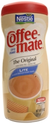 Coffee-mate Non-Dairy Lite Creamer Canister Coffee-mate Non-Dairy Lite Creamer Canister