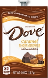 Dove Caramel & Milk Chocolate Dove Hot Chocolate Flavia