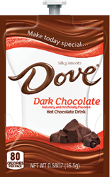 Dove Dark Hot Chocolate  Dove Hot Chocolate Flavia