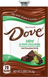 Dove Mint & Dark Chocolate  Dove Hot Chocolate Flavia