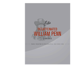 Ellis William Penn Decafeinated Grind 42/2 oz.