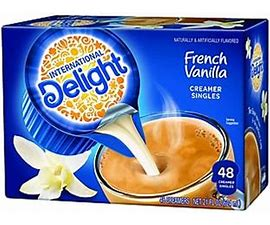 ID French Vanilla Creamers 48/ct Coffee-mate French Vanilla Creamers
