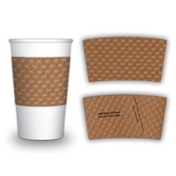 Java Jacket Cup Sleeve  10 oz  Paper Cup Lids