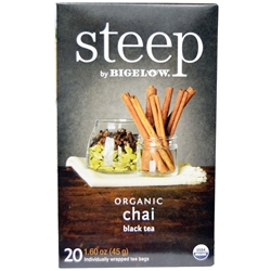 Steep Organic Chai Black Tea Bigelow Green Tea