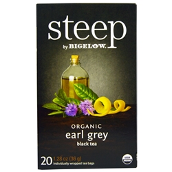 Steep Organic Earl Grey Bigelow Green Tea