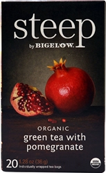 Steep Organic Green Tea w/ Pomegranate Bigelow Earl Grey Tea