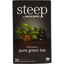 Steep Organic Green Tea Bigelow Green Tea