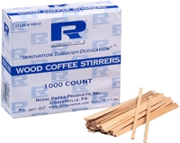 Wood Stir Sticks Wood Stir Sticks